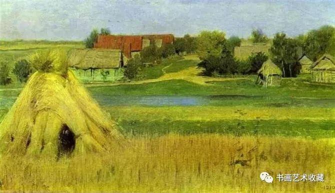 俄罗斯油画大师列维坦作品图片