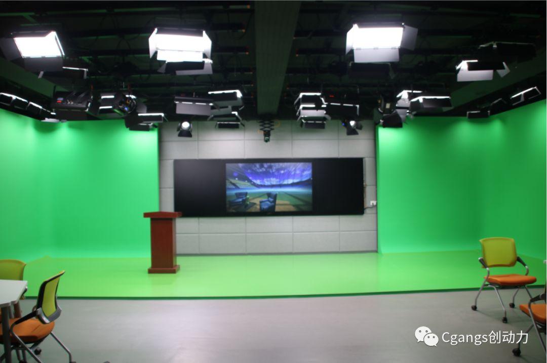 长春建筑学院使用Cgangs Livestudio V3D敏捷版打造校园虚拟演播室