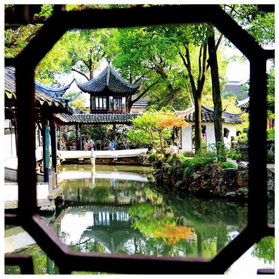 苏州最大的园林,与留园,北京颐和园,承德避暑山庄并称为中国四大名园.