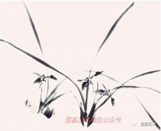 图文教程:写意兰花画法步骤详解