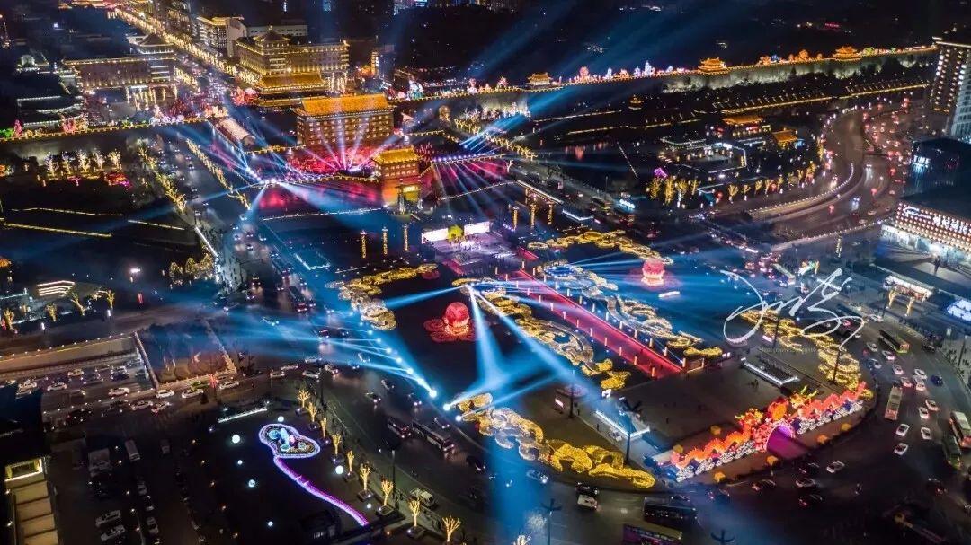 2019年西安城市规划图