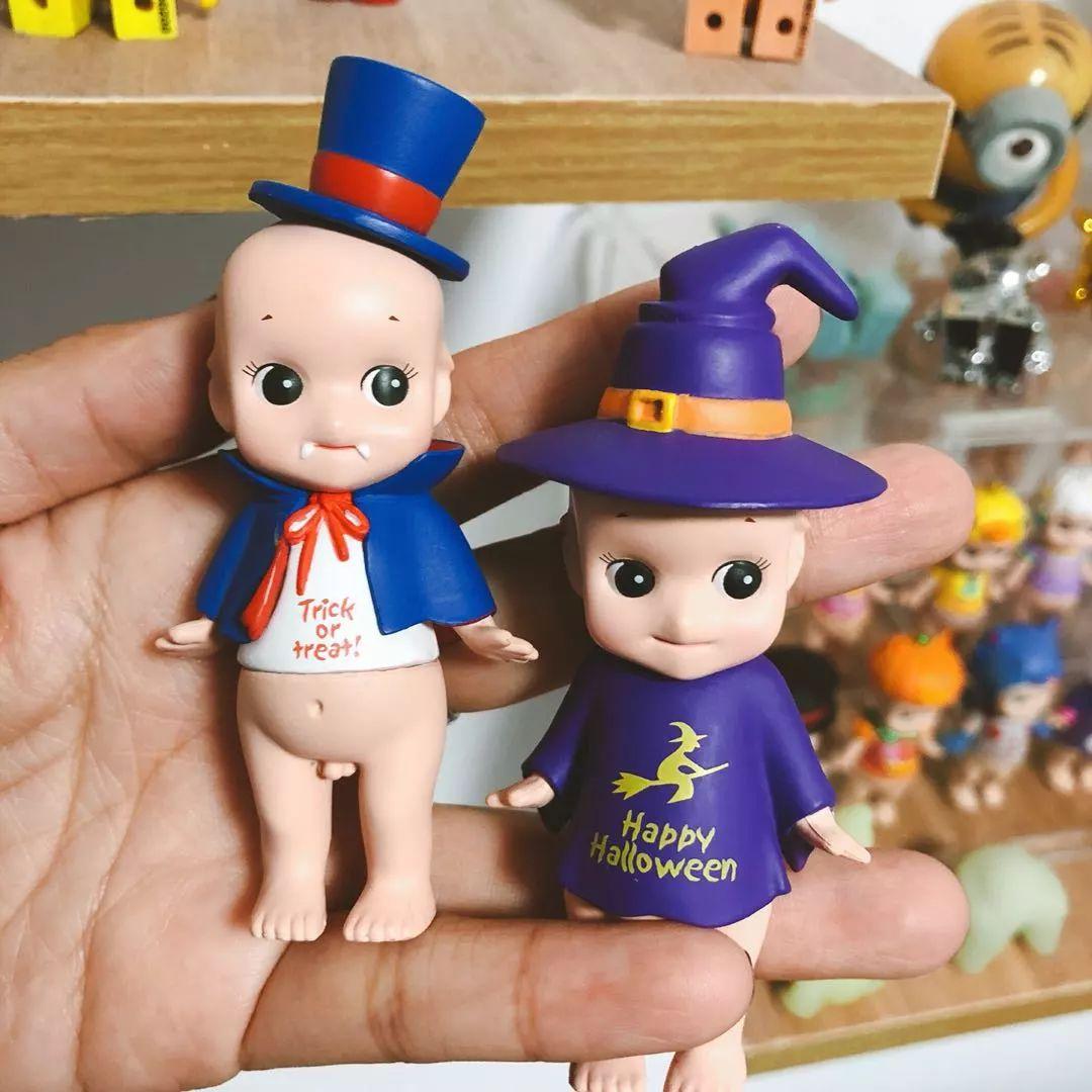 同时,收集这个娃娃最开心的就是盲抽这个过程吧.