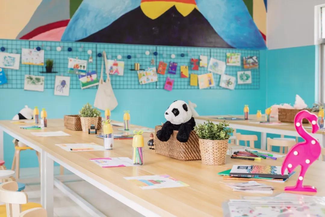 继第一间孟河小学之后,今年第二间新北孝都小学的「快乐美术教室图片