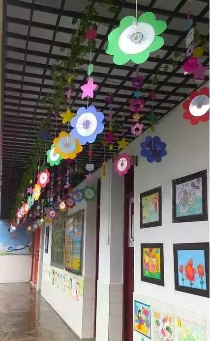 【环创】100款幼儿园走廊创意吊饰 主题墙布置,非常实用!
