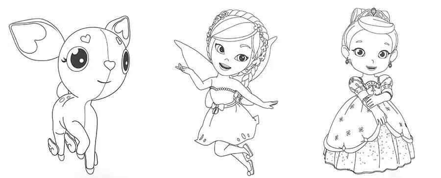 彩虹幼儿简笔画