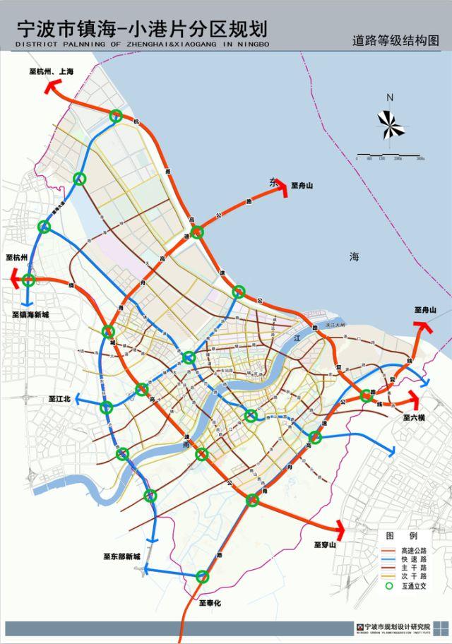 宁波前湾区规划图