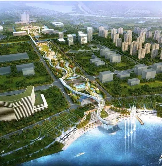 顺德新城区规划图
