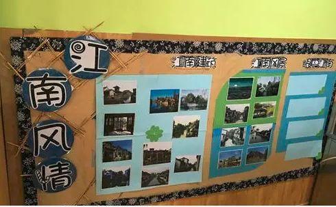 树枝,硬纸板等   设计板块:主题墙,区角环创,生活类环创,吊饰,家园