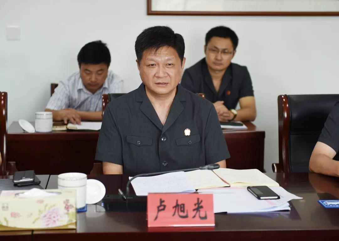 南通市委副书记,代市长徐惠民一行视察指导市中院工作