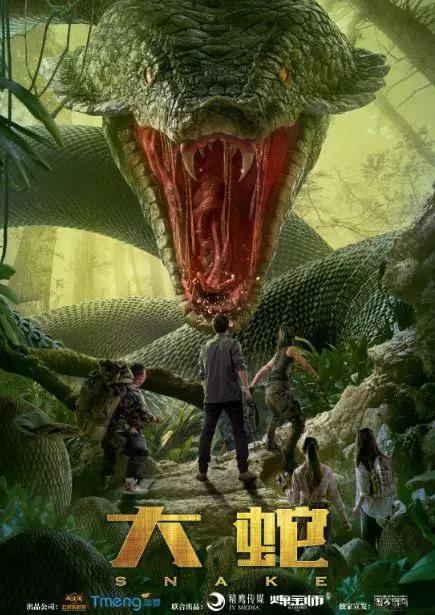 大蛇 原始丛林惊现史前巨蛇