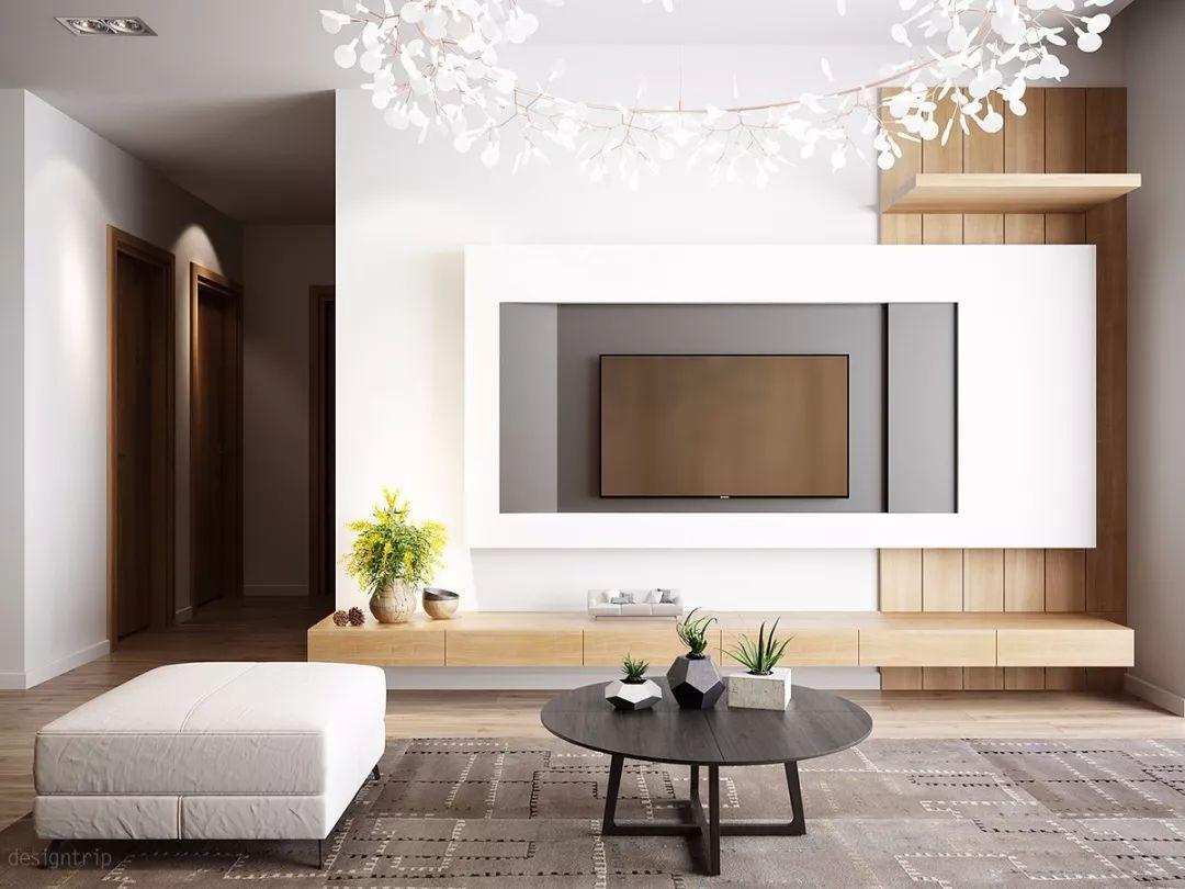 2019年,电视墙这样设计,不low!_网易订阅