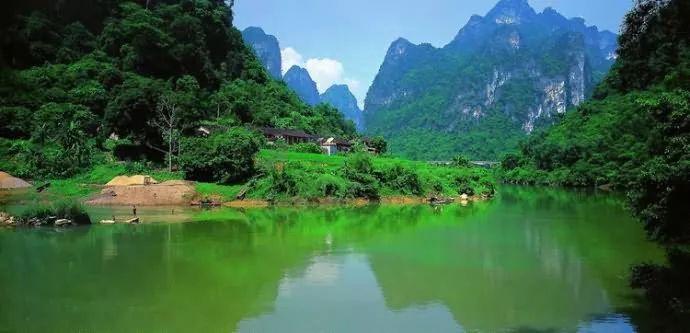 素材丨青山绿水,自然山水画!