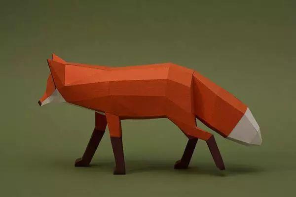 动物折纸老虎 视频