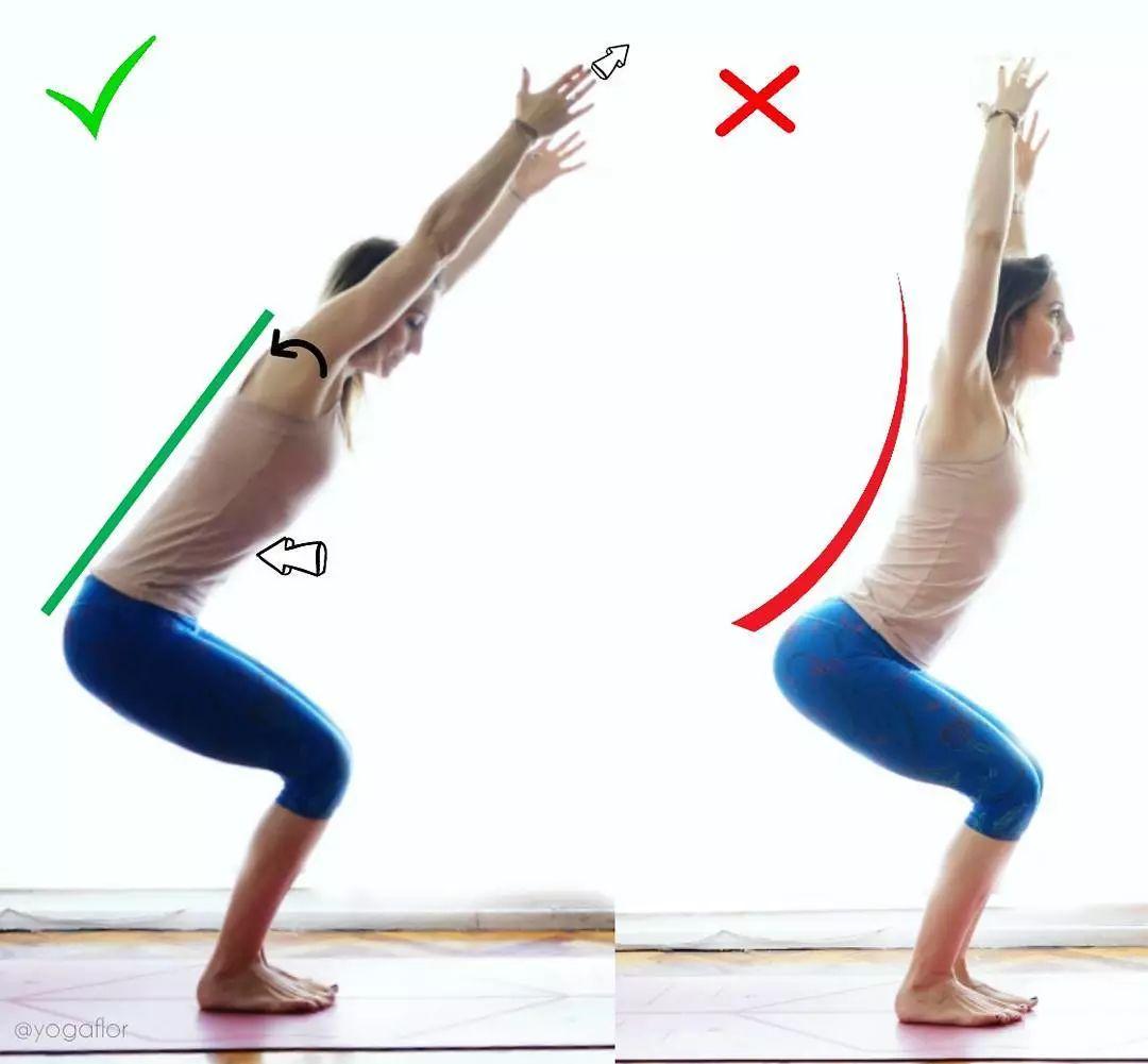 练瑜伽,初学者最容易做错的27个瑜伽体式,尤其要注意啦!图片