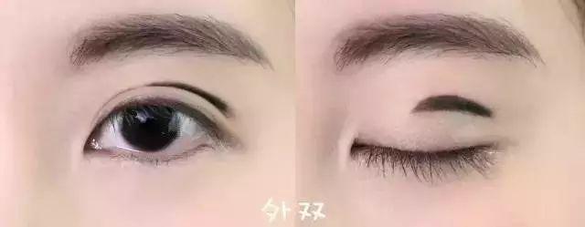 内双,单眼皮该怎么涂眼影?
