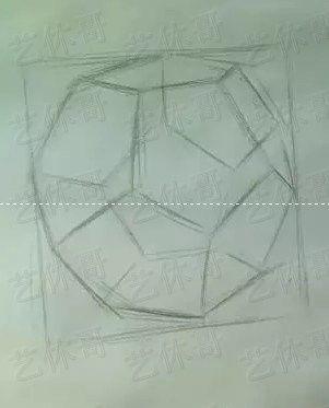 素描之十二面体 结构素描图片