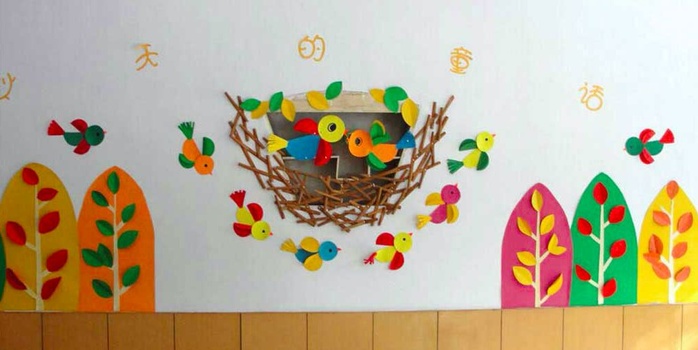 秋天主题墙 | 从主题网络图,到主题墙和墙面装饰