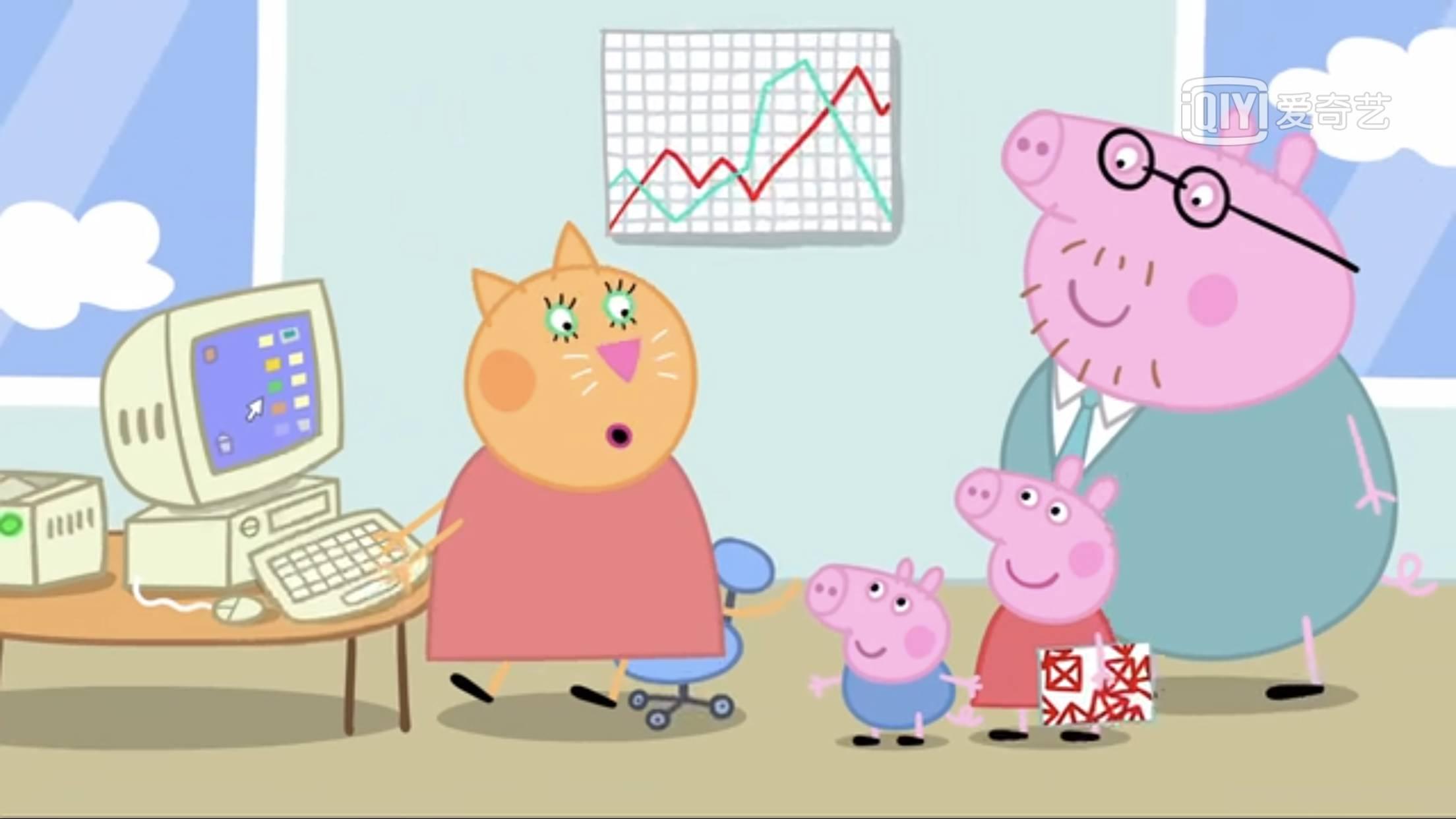 小猪乔治画法步骤