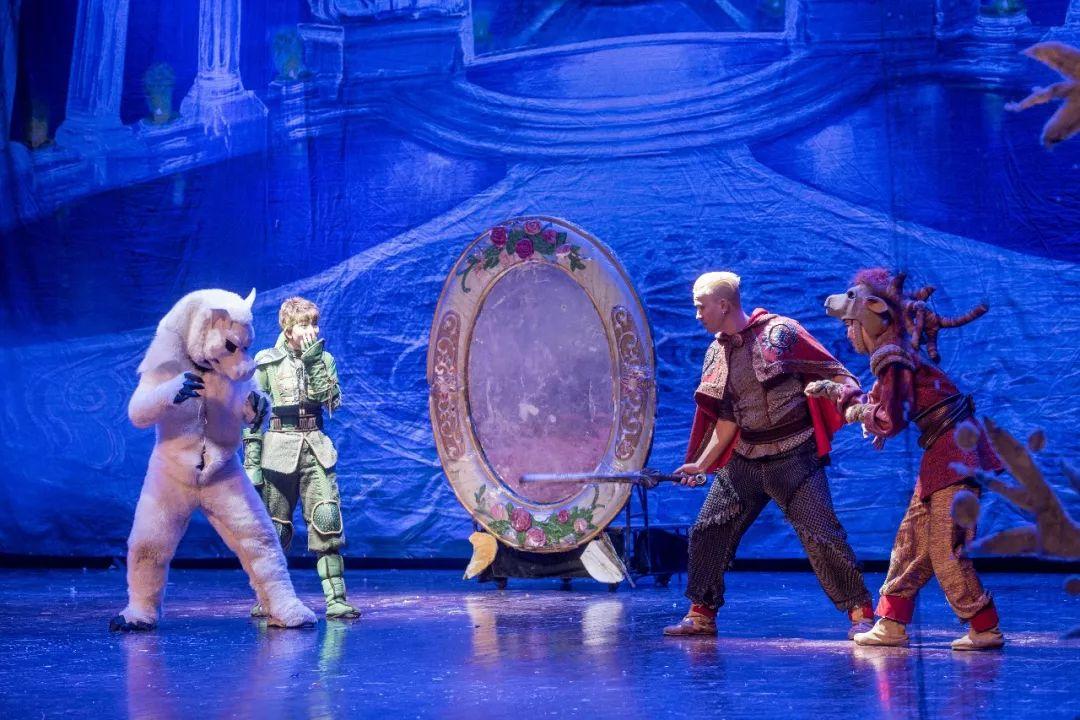 大型儿童魔幻舞台剧《冰雪奇缘》,永恒经典百看不厌的
