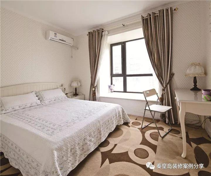 秦皇岛碧水华庭小区的这套案例是法式风格的,别墅280平米的户型