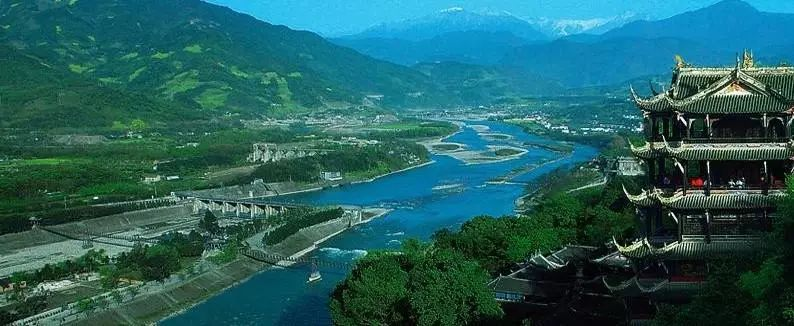 一座大坝,两个名城,三位名人,都江堰与韩城竟有这些惊