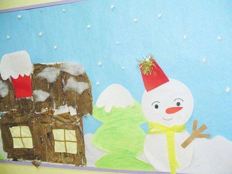 冬天主题墙 | 主题网络图 墙面装饰 剖析,实力干货