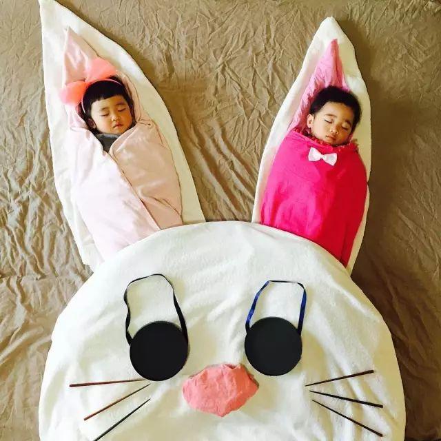 日本一妈妈趁女儿和儿子睡着之后