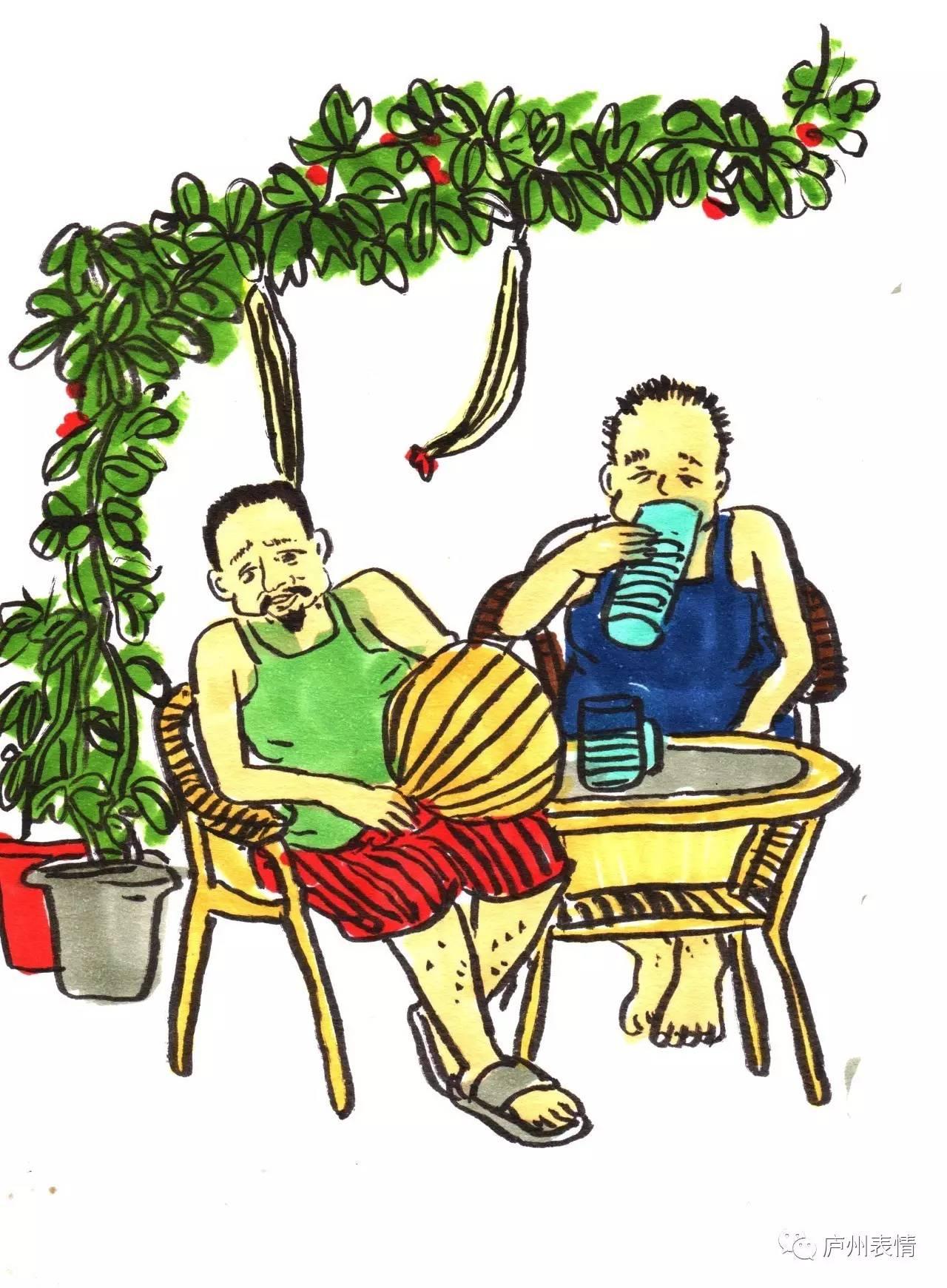 手绘漫画:这六个夏天的生活场景,一定有一个存在你的记忆里