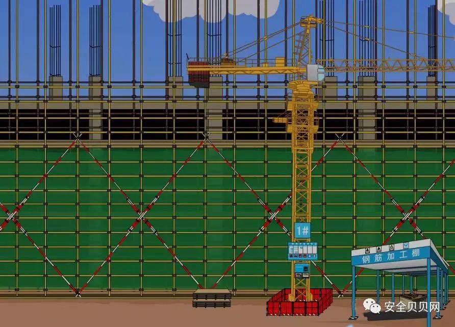 50塔吊电路图维修图解