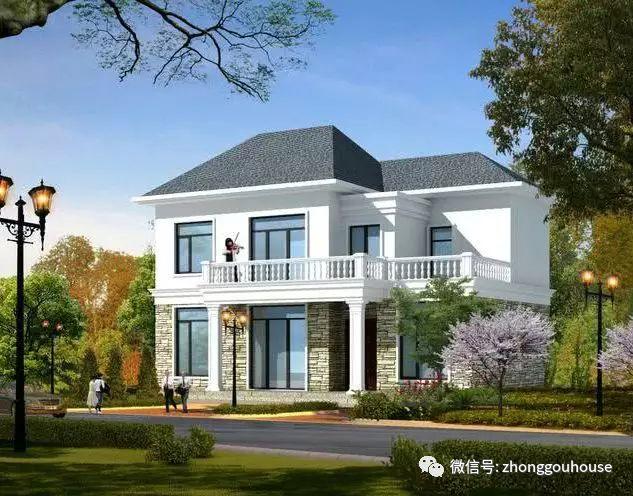 乡村盖这样的洋房,未来有钱都买不来的奢侈品!(30套方案)花园别墅福建宝珊泉州图片