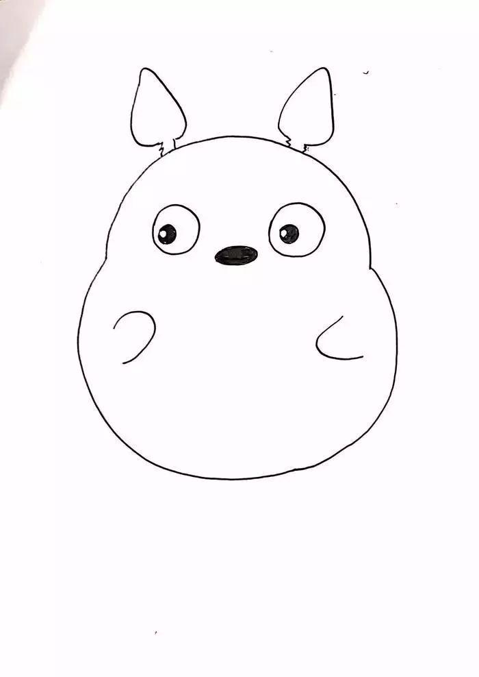 手绘-宫崎骏王国:大龙猫(零基础马克笔手绘教程)